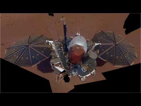 NASA's InSight Lander Shares Sights And Sounds Of Mars
