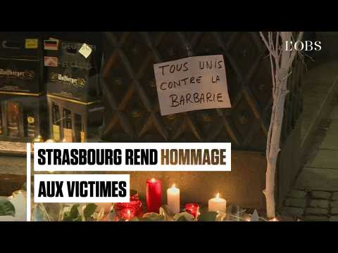 Après la fusillade à Strasbourg, l'hommage aux victimes