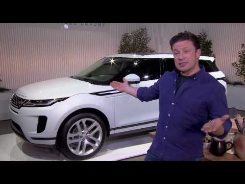 Jamie Oliver The New Range Rover Evoque Launch