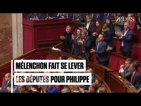 Quand Jean-Luc Mélenchon fait ovationner Edouard Philippe à l'Assemblée