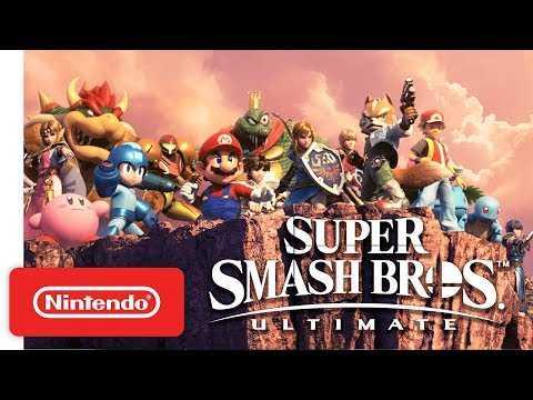 Super Smash Bros. Ultimate - Accolades Trailer - Nintendo Switch
