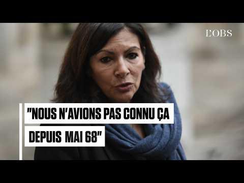 """""""Gilets jaunes"""" : Anne Hidalgo attend une réponse """"politique"""" et """"sociale"""" du gouvernement"""