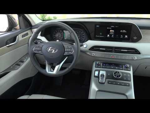 2020 Hyundai Palisade Interior Design