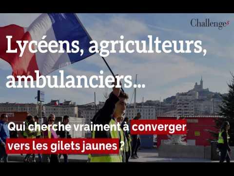 Lycéens, agriculteurs, ambulanciers... Qui peut vraiment converger vers les gilets jaunes ?