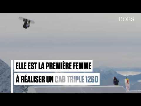 """L'incroyable """"trick"""" réalisé par la snowboardeuse Anna Gasser"""