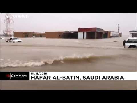 Inondations au Koweit et en Arabie saoudite