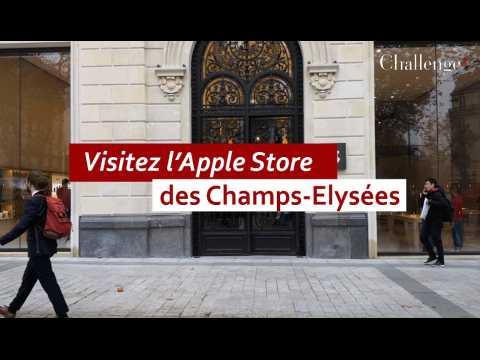 Visitez l'Apple Store des Champs-Elysées