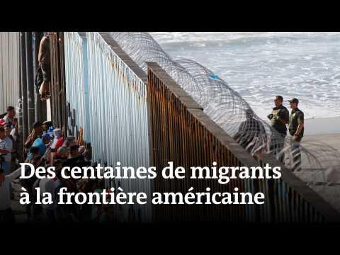 Une «caravane» de migrants à la frontière américaine