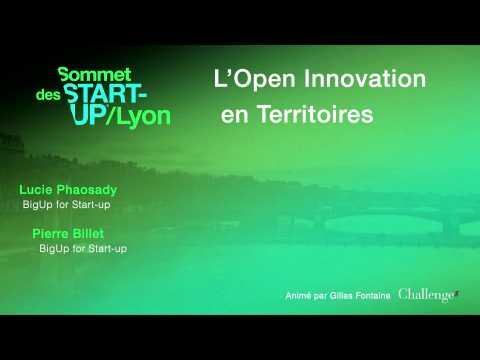 [SOMMET DES START-UP DE LYON]  L'OPEN INNOVATION EN TERRITOIRES