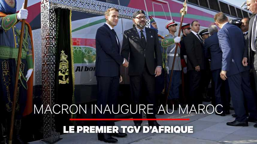 Illustration pour la vidéo Le Maroc inaugure la première ligne TGV en Afrique