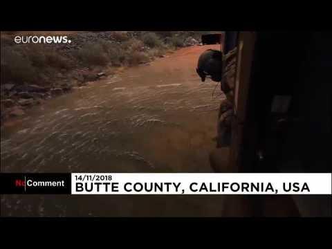 Incendie en Californie : la lutte continue