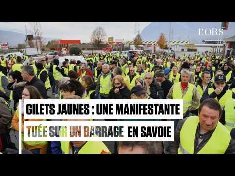 Gilets jaunes : Christophe Castaner annonce le décès d'une manifestante en Savoie