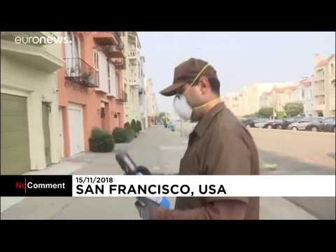 Californie : les feux rendent l'air irrespirable