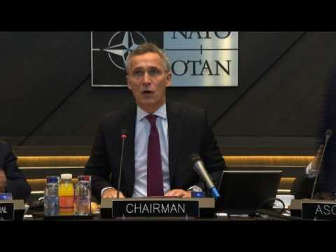 NATO Foreign Ministers meeting begins