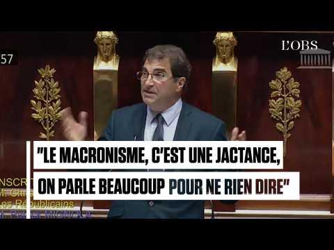 Le LR Christian Jacob n'a pas mâché ses mots contre Emmanuel Macron