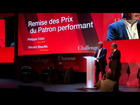 [SOMMET DE L'ECONOMIE] Remise du Prix du Patron performant