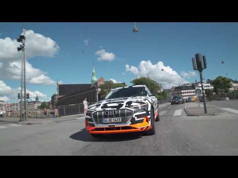 Audi e-tron extreme Driving Video