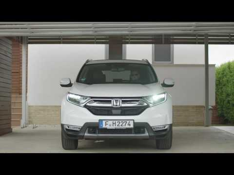 2019 Honda CR-V HYBRID Driving Video