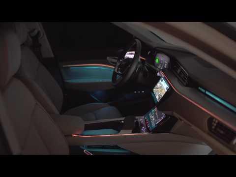 Audi e-tron extreme Interior Design
