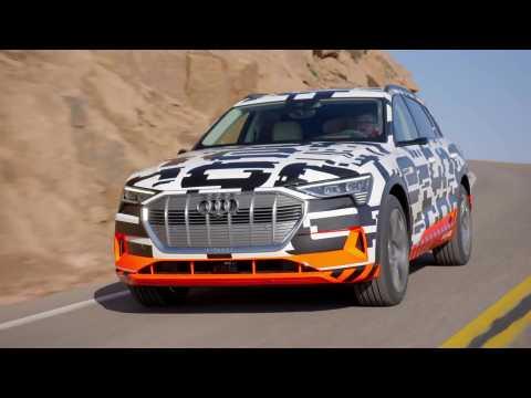 Audi e-tron Prototype extreme Pikes Peak recuperation
