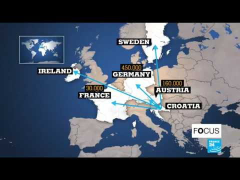 Young Croatians moving to Western Europe in search of a job