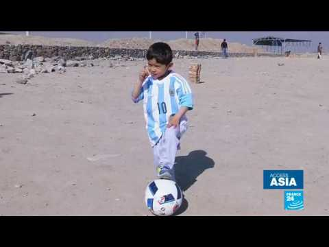 Afghanistan: Young Messi fan who went viral forced to flee his home