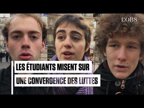 Avec les gilets jaunes, étudiants et lycéens rêvent d'une convergence des luttes