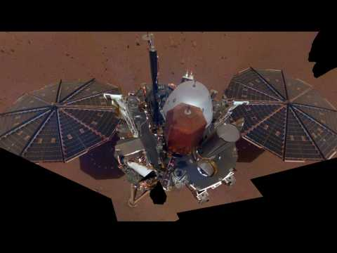 NASA's InSight Takes A Selfie On Mars