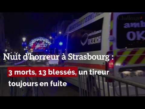 Nuit d'horreur à Strasbourg. 3 morts, 13 blessés, et un tireur toujours en fuite