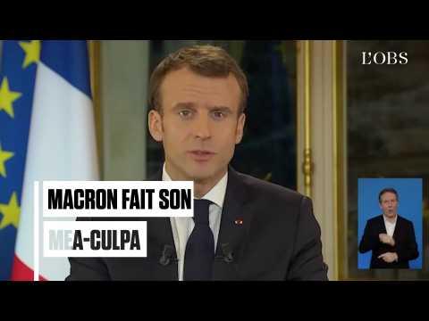 """Macron : """"Je sais qu'il m'est arrivé de blesser certains d'entre vous par mes propos"""""""