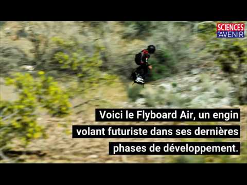 Flyboard Air : le hoverboard qui va faire voler les militaires