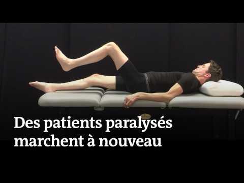 Des patients paralysés marchent à nouveau