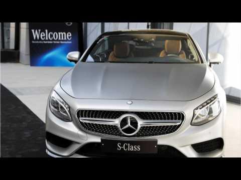 Mercedes-Benz Sales Dip In October