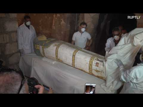 Archaeologists unveil 3,000-year-old Ramesside tomb in Luxor
