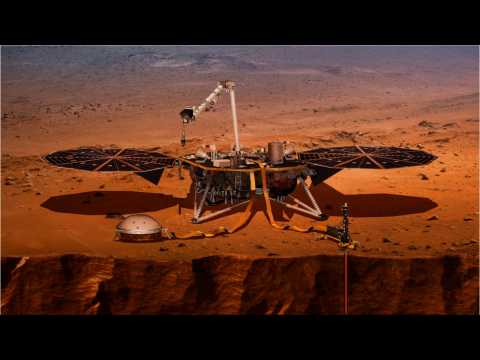 NASA's InSight Lander Touches Down On Mars