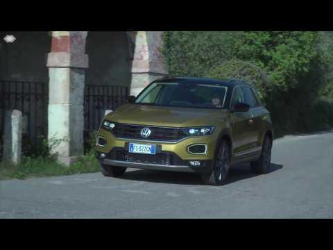 Volkswagen T-Roc Driving Preview