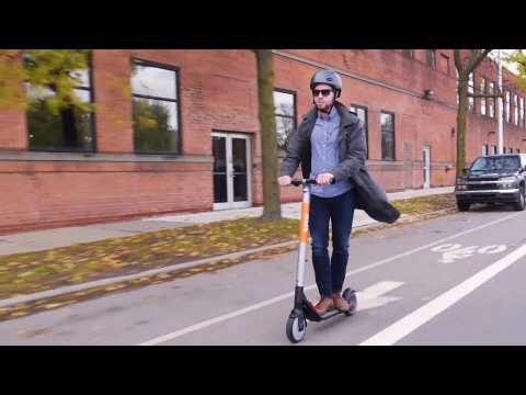 Ford Spin Scooter Demo