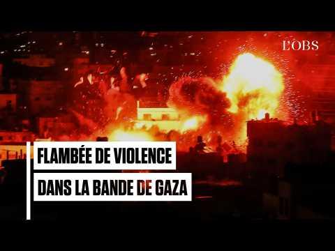 Gaza : en réponse aux roquettes palestiniennes, Israël détrruit des sites stratégiques du Hamas