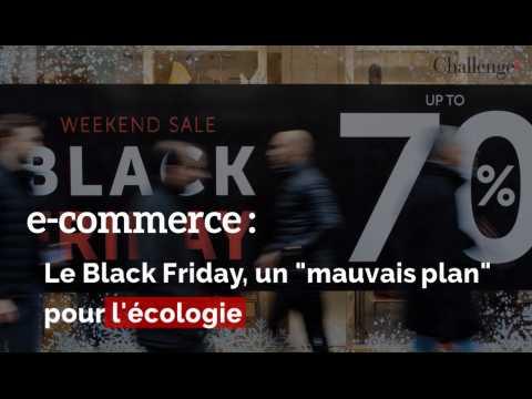 Le Black Friday, un mauvais plan pour l'écologie