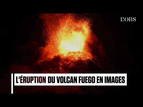 Le volcan Fuego est entrée en éruption au Guatemala