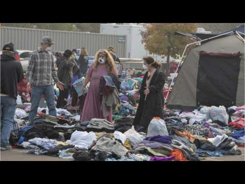 Californians Homeless From The Wildfire Prepare For Heavy Rain