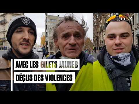 """Gilets jaunes : """"Après avoir été canardé par les CRS, on est forcément moins pacifiste"""""""