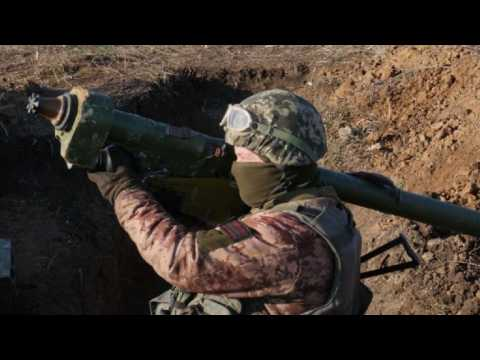Ukraine military carries out exercises amid Russia tensions