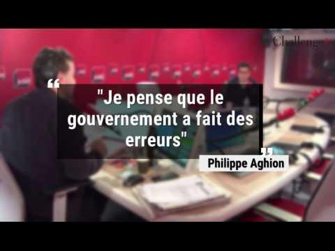Quand Philippe Aghion critique la politique économique du gouvernement