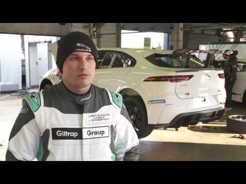 Jaguar I-PACE eTROPHY Completes Final Pre-Season Test - Simon Evans