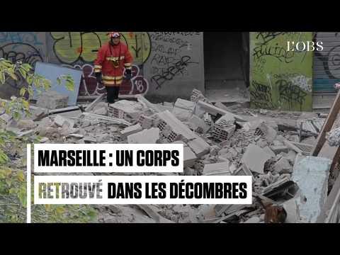 Marseille : un corps retrouvé dans les décombres de la rue d'Aubagne