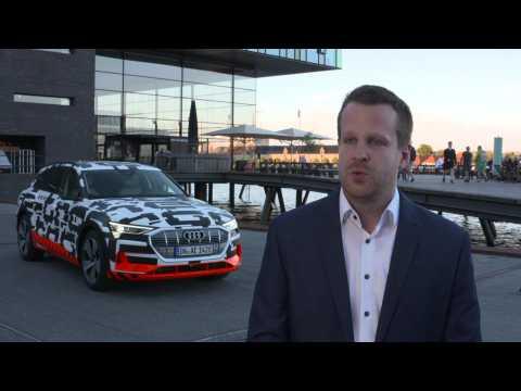 Audi e-tron extreme Interviews - Michael Wieldt