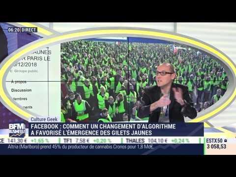Anthony Morel: Facebook, un changement d'algorithme a favorisé l'émergence des gilets jaunes - 10/12