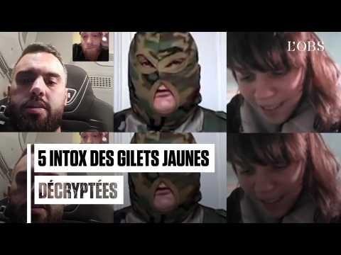 """Migrants, mercenaires, Constitution : 5 intox des """"gilets jaunes"""" décryptées"""