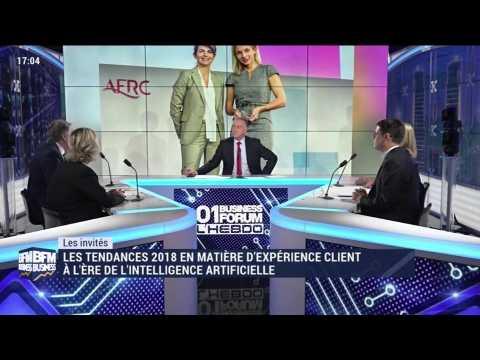 Les tendances 2018 en matière d'expérience client à l'ère de l'intelligence artificielle - 08/12